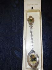 COLLECTABLE BOXED TEASPOON COPPER BOUTIQUE LION ENAMEL BOWL JOHANNE SALZBURG